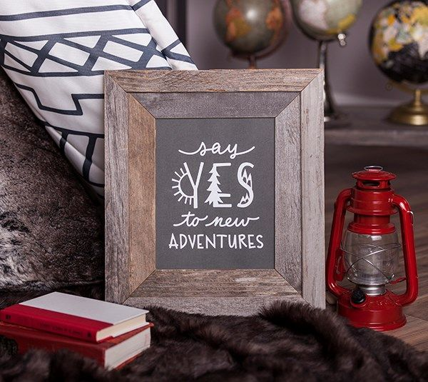 Say Yes To New Adventures And Easy Home Décor!