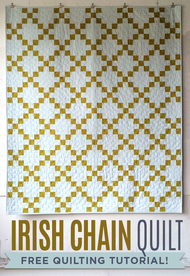 25+ basta ideerna om Irish chain quilt pa Pinterest Lapptacken for timmerstugor och ...