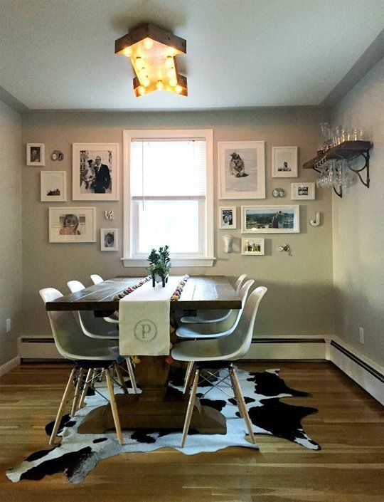 Before After Jessies Funky And Nostalgic Dining Room The Big Reveal Makeover Contest 2015