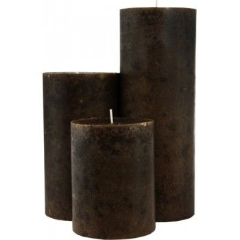 Brown candles -- used for healing animals, home issues, locating lost objects, grounding, finding common sense, and averting crises