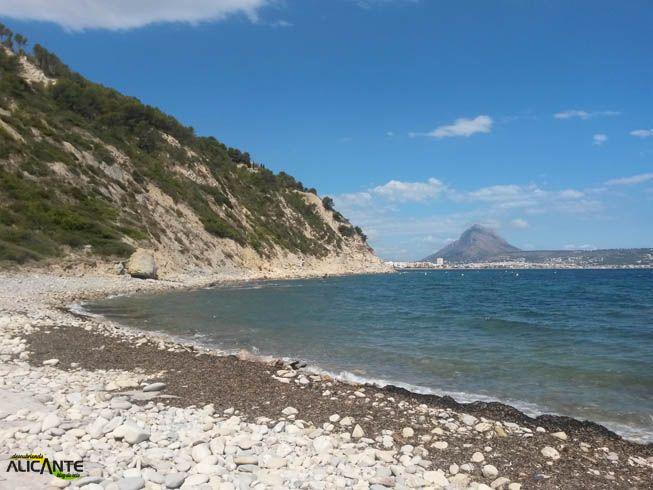 Cala Sardinera Una Cala Virgen En Javea Calas Playas