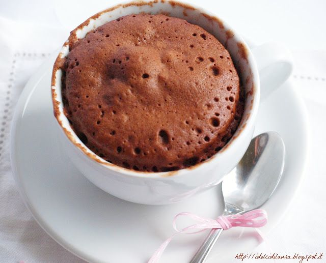 i dolci di laura: Choccolate Mug Cake