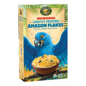 Delicious non-GMO alternative from Nature's Path to that of GMO-laden Kelloggs Frosted Flakes. Show us your favorite non-GMO breakfast item.