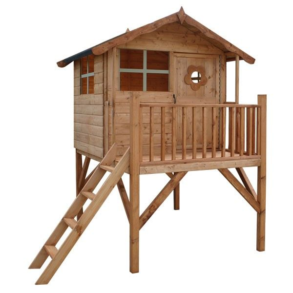 This Honeypot Tower Playhouse Extra with Slide is a great garden accessory. Ideal for keeping your kids active for hours on end!