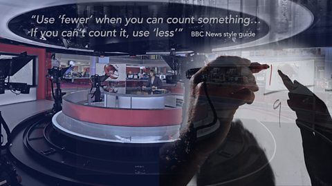 The BBC News style guide has been compiled to assist producers and journalists in writing for online, as well as all broadcast media.