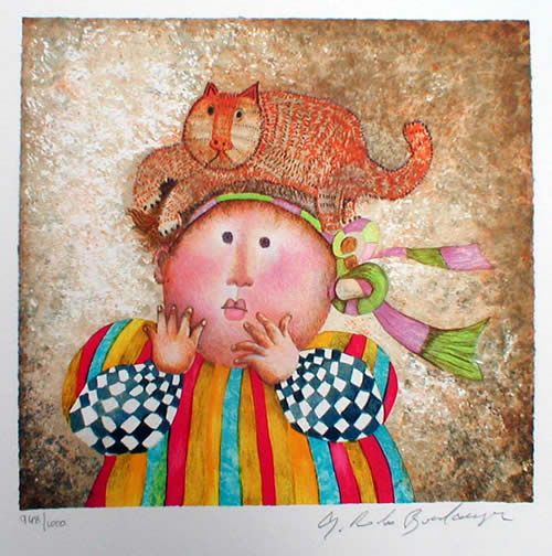 My favorite artist - Graciela Rodo Boulanger  I have this one!