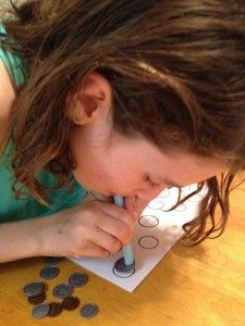 Oral Motor Bingo!  (and how blowing/sucking activities can have an impact on visual motor skills, concentration, self-regulation, and handwriting).  Visit pinterest.com/arktherapeutic for more #oralmotor therapy ideas