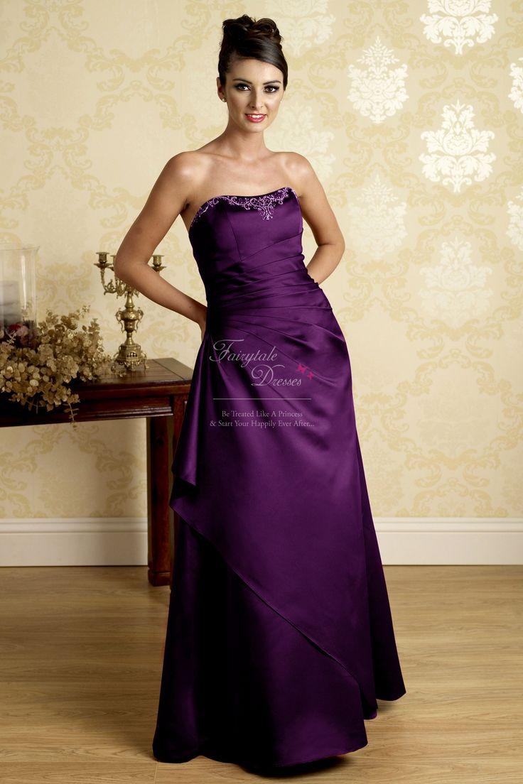 images of bridesmaids' outfits | cadburys purple bridesmaid dresses