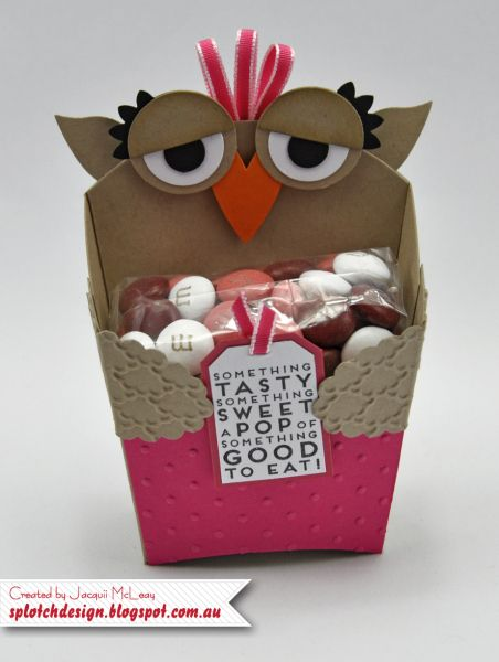 Cute Owl Fry Box