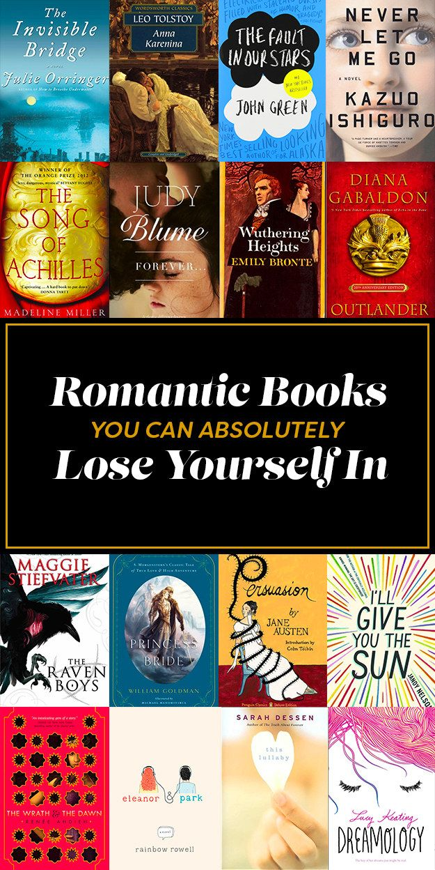 21 Romantic Books You Can Absolutely Lose Yourself In | Romance novels 2016 | Romance reading list | Romance books to read 2016