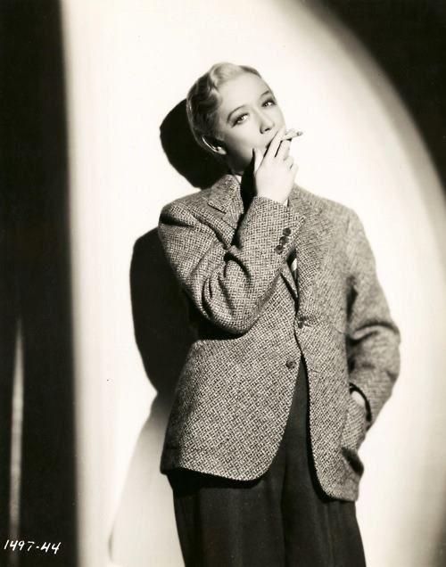 Film Noir Photos: Adventures in Androgyny: Miriam Hopkins
