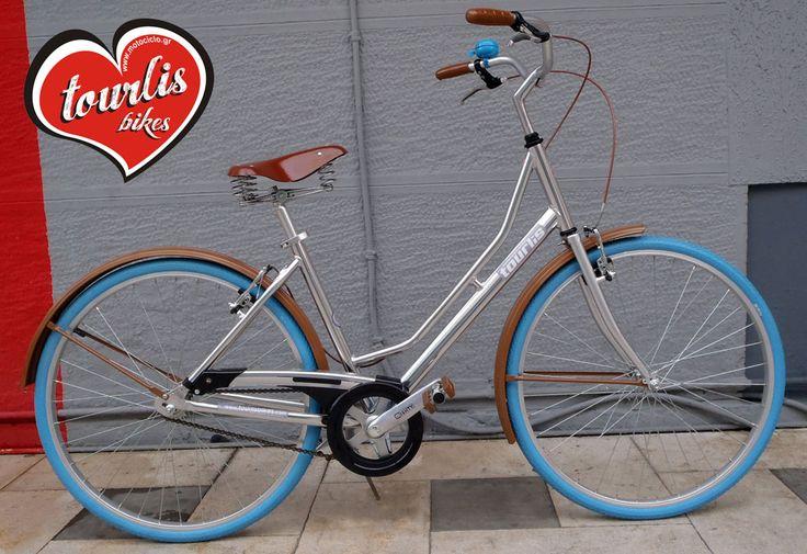 TOURLIS UNIQUE 2016 - 26W Αποφασίσαμε στο MOTOCICLO, κάθε χρονιά να παράγουμε ένα επετειακό ποδήλατο το οποίο θα είναι το χαρακτηριστικό μοντέλο της χρονιάς που ακολουθεί! Στο UNIQUE ο σκελετός είναι αλουμινένιος και εντελώς άβαφτος!  Καλή χρονιά!