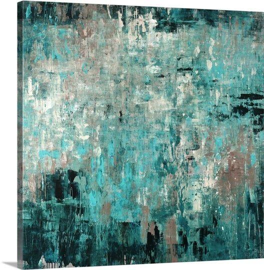 Teal Wall Art best 20+ teal art ideas on pinterest | bohemian painting, palm