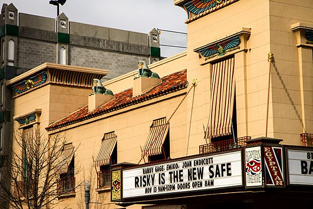 The history construction and renovation of the egyptian theater in boise