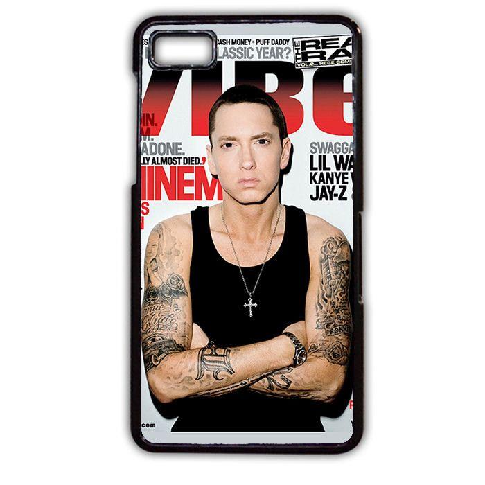 Eminem Cool Photo Cover Blackberry Phonecase For Blackberry Q10 Blackberry Z10