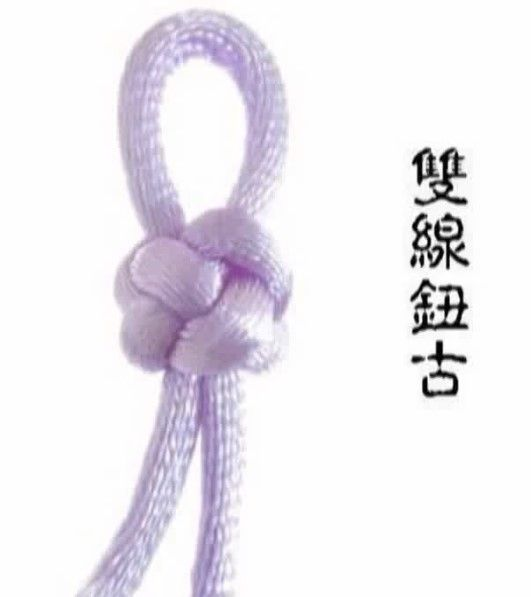 Chinese knot: button knot tutorial