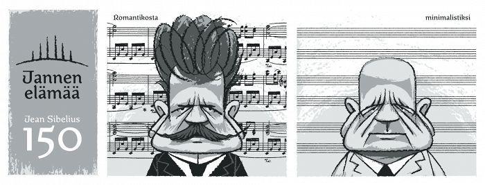 Heinäkuun Sibelius-sarjakuva: Miksi Sibelius vaikeni? - Kulttuuri - Helsingin Sanomat