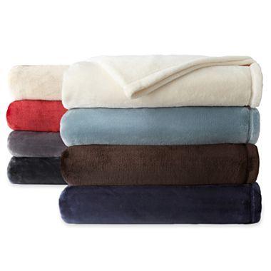 Home Velvet Plush Solid Blanket Home Velvet And Plush