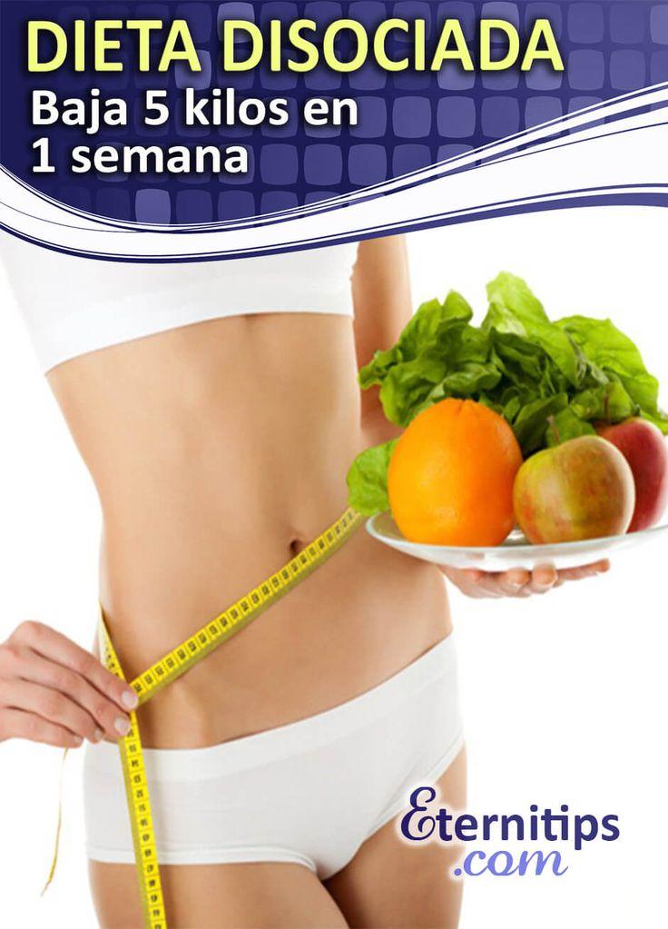 Dieta Disociada para Adelgazar 5 kilos en una semana   Eternitips
