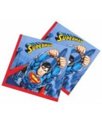 Superman Peçete 16 Adet