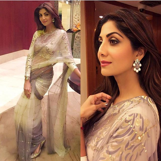 Shilpa shetty looks outstanding in the shaded saree To purchase this product mail us at houseof2@live.com or whatsapp us on +919833411702 for further detail #sari #saree #sarees #sareeday #sareelove #sequin #silver #traditional #ThePhotoDiary #traditionalwear #india #indian #instagood #indianwear #indooutfits #lacenet #fashion #fashion #fashionblogger #print #houseof2 #indianbride #indianwedding #indianfashion #bride #indianfashionblogger #indianstyle #indianfashion #banarasi #banarasisaree