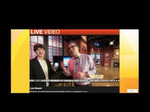 Earigami CEO Fred Scarf on Good Day Sacramento LIVE DOWNLOAD EARIGAMI FOR FREE HERE: https://redd.it/45vxi3
