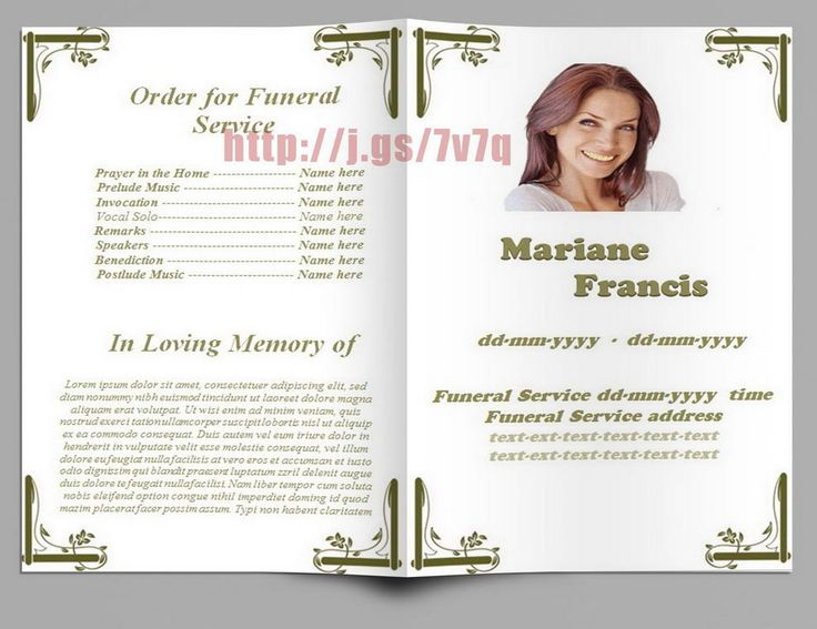 free funeral templates download 32 Free funeral templates download - funeral templates