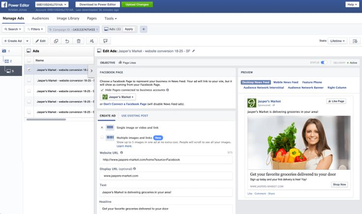 Facebook upgrades Ads Manager and Power Editor with more actionable data views