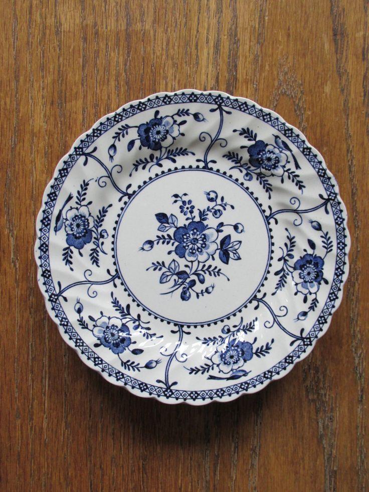 17 best images about european blue white porcelain on - Johnson brothers vajilla ...