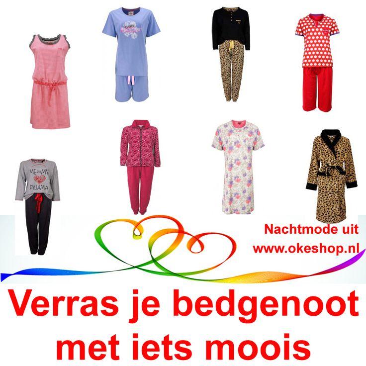 Verras je bedgenoot met iets moois uit www.okeshop.nl