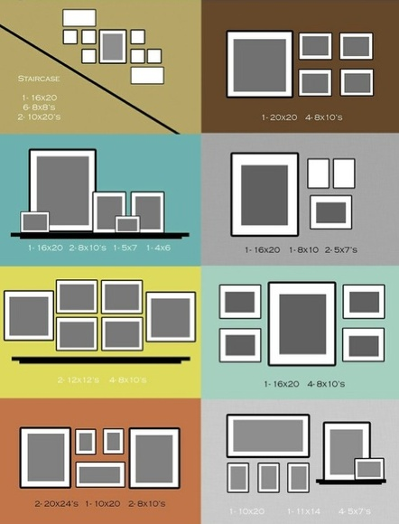 how to hang picture frames as a collage diy ideas 4 home pictureframes hangingpictures photocollage - Picture Hanging Arrangements