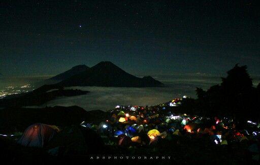 Prau mountain in Dieng,wonosobo,central java,INDONESIA