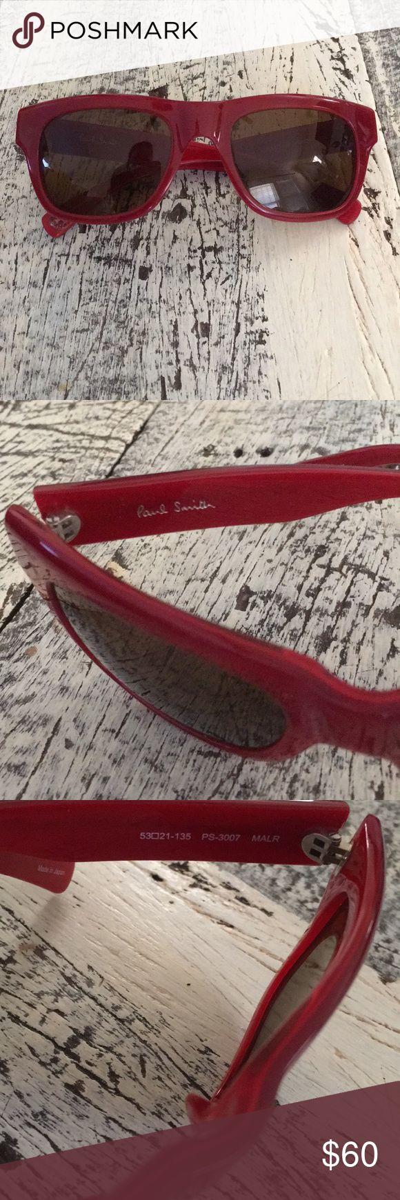 Paul Smith sunglasses Super fun Red sunglasses by Paul Smith Paul Smith Accessories Sunglasses