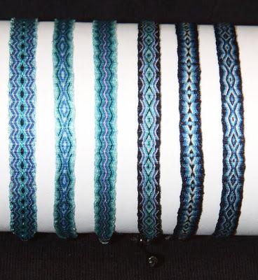 TRIBU - TELAR EGIPCIO -: Manillas Telar Egipcio 6 mm