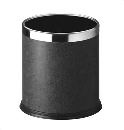 Bathla 20lts Black Leather Wastebins For More Details: http://www.mrthomas.in/bathla-20lts-black-leather-wastebins_679