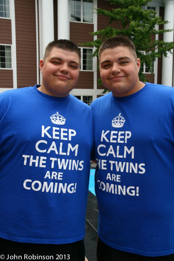 The Twins Days Festival in Twinsburg, Ohio is the largest annual gathering of twins (& other multiples) in the world!