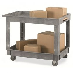 We have in-stock a number of premium built Rubbermaid Economy Plastic Carts for the customers. Visit the website and order these plastic carts now. They are a handy storage solution for each and every industrial firm.