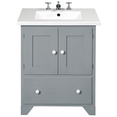 Fired Earth shaker style washstand