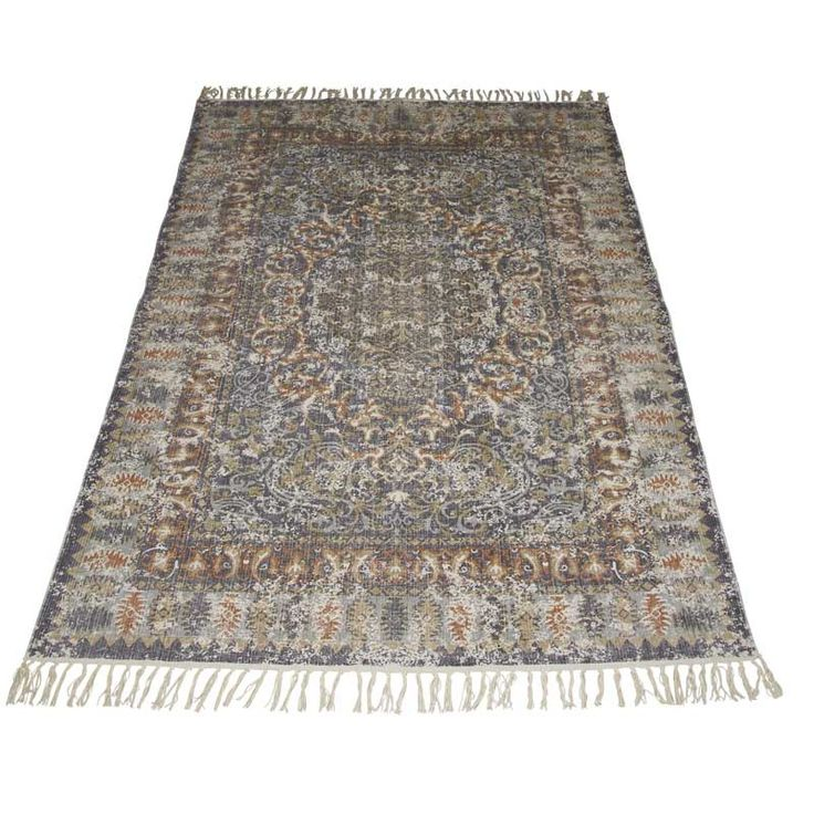 Orientalisk Matta 160 cm-Matta 160 cm . 100% bomull/cotton
