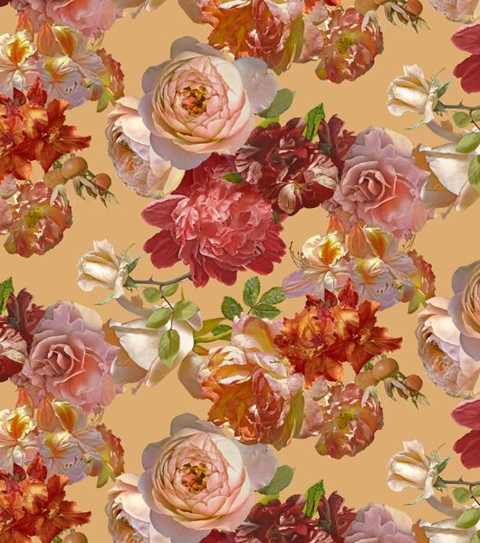 Rapport design The bouquet of roses-beige - www.surfacesdesign.ru