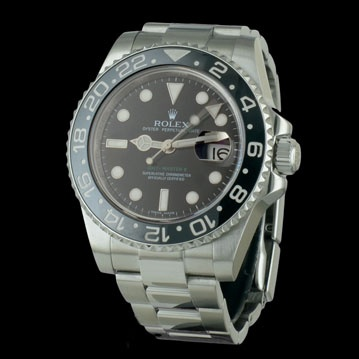 #ROLEX - New #GMT-Master II #montre d'occasion #cresus http://www.cresus.fr/montres/montre-occasion-rolex-new_gmt_master_ii,r2,p24382.html