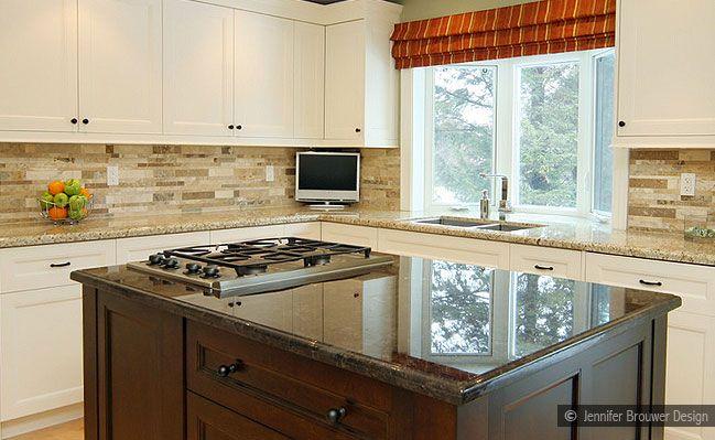 13 Best Images About Backsplash Kitchen With Venetian Gold Granite On Pinterest Mosaic