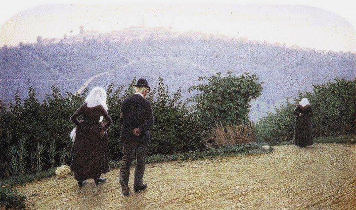 Angelo Morbelli - Alba domenicale, 1915