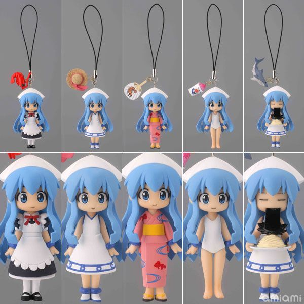 AmiAmi [Character & Hobby Shop] | Capsule Q Fraulein - Capsule Omikuji Squid Girl Arc BOX(Preorder)