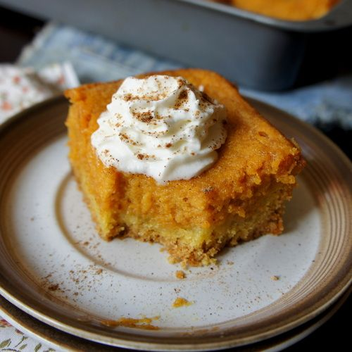 Pumpkin Gooey Cake Paula Deen Recipe On Food Network So