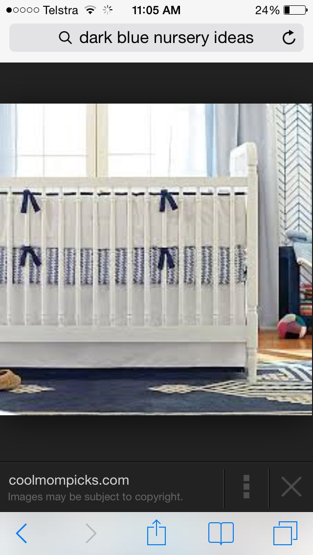 How cute is this cot bumper?