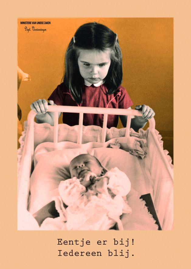 New Baby – Eentje erbij... – a unique product by Ministerie-Van-Unieke-Zaken on DaWanda