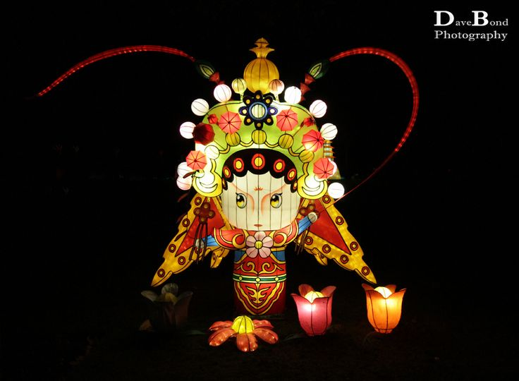 Magical Lantern Festival. Theme was based on The Silk Road. Taken at Chiswick House, London