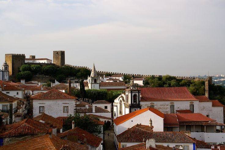 A view of beautiful Obidos