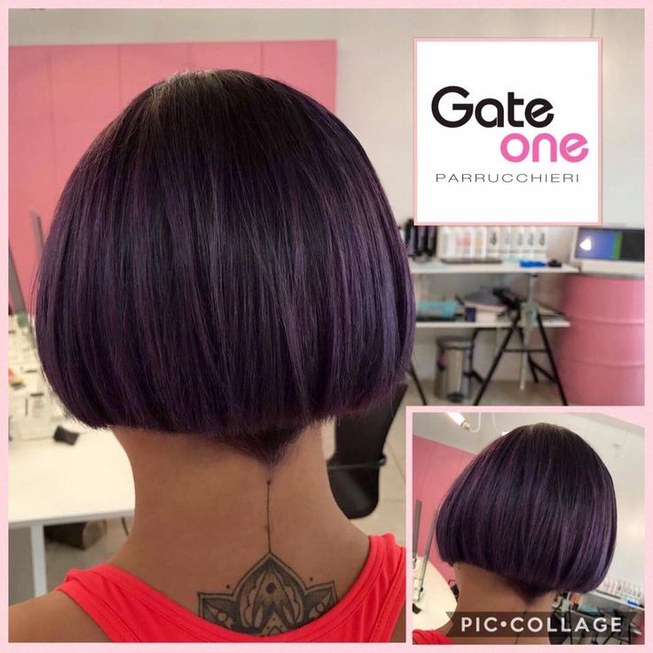 New Purple Look  #hair #wow #amazing #purple #woman #color #newlook #style #summer #treviso  www.gateoneparrucchieri.it